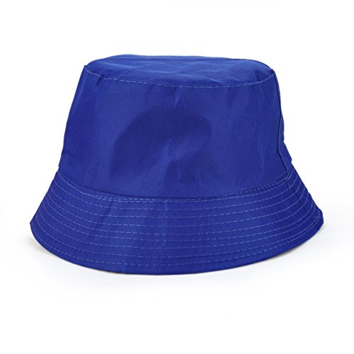 er Twill Reversible Bucket Hat Packable Summer Outdoor Hat Royalblue (Multi Plaid Reversible Hat)