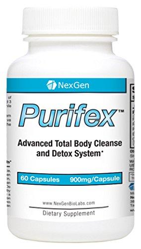 Purifex - Puissant total 30 jours Cleanse Detox corps et le système Pour aider à la perte de poids de soutien, la santé digestive, niveaux d'énergie accrue, et l'ensemble de purification du corps. Un must have pour relancer un programme de perte de poids.