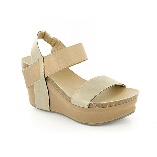 Corkys New Wedge Gold 9 Womens Sandals