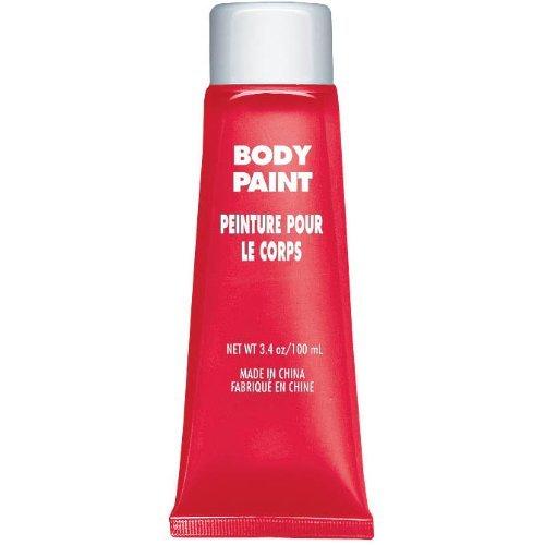 Peinture corps rouge
