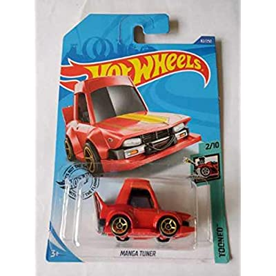 Hot Wheels 2020 Tooned Manga Tuner, Red 82/250: Toys & Games