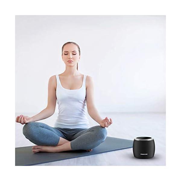 POWERADD Enceinte Bluetooth Portable, 36W Basse Performant avec 4 Pilotes Intégrés, 4000mAh Grande Capacité, Volume Rotatif, Musique de 12H pour Intérieur/Extérieur 7