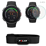 Polar Watch Bundle - Vantage V with HRM Chest Strap & HLH Screen Protector