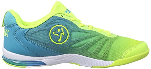 Turquoise Neon Zumba Shoe Pulse Yellow Impact Dance Women's YrYqXv