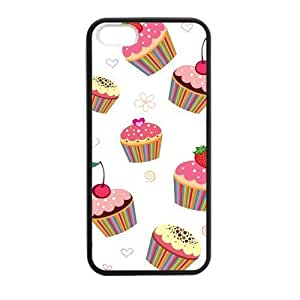 Cake Princess Case for iPhone 5 5s protective Durable black case