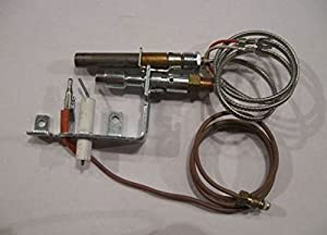 amazon com empire r 3624 natural gas pilot assembly empire r 3624 natural gas pilot assembly thermopile and thermocouple