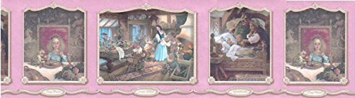 (Fairy Tales Wallpaper Border WF103411)