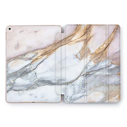 Wonder Wild Pastel Marble Apple iPad Pro Case 9.7 11 inch Mini 1 2 3 4 Air 2 10.5 12.9 2018 2017 Design 5th 6th Gen Clear Smart Hard Cover Colorful Blue Pink Bronze Stone Smoky Marmoreal Creative