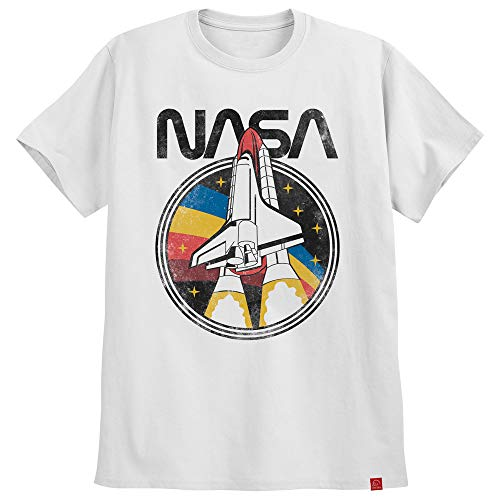 Camiseta Nasa Challenger Astronomia Camisa Geek Moda Tumblr (G, Branco)