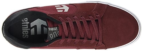 Etnies Mens Fader LS Vulc Athletic Shoe Burgundy XIAa8b