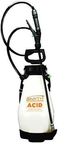 Smith Performance Sprayers 190449 Smith Performance 2-Gallon Specifically Designed 2 Gallon Sprayer for Acids