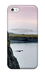 New Design Shatterproof UIEBymt5788Omtri Case For Iphone 5/5s (coast On Skerwink Trail Near Trinity East)