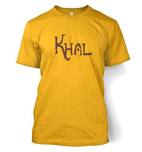 Khal T-Shirt - Game of Thrones (Medium (38/40)/Camel Gold)