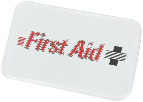 North by Honeywell 3510#2F 10 Unit Steel Econo - First Aid Logo by North (Image #2)