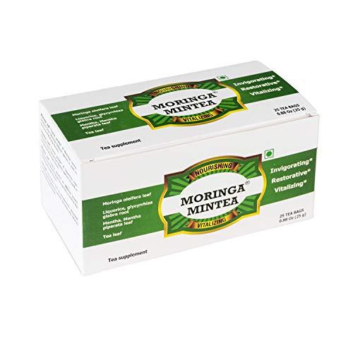 Moringa Mintea, Herbal Mint Tea to Reduce Inflammation and Arthritis Pain