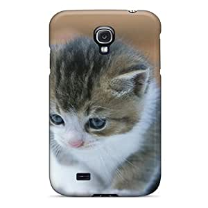 Unique Design Galaxy S4 Durable Tpu Case Cover Cat