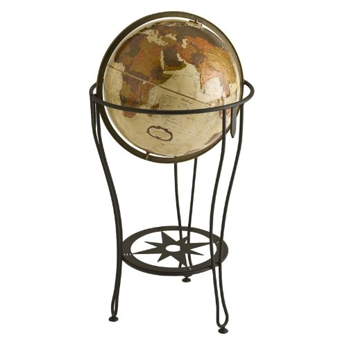 Replogle Globes Viking Expedition Pike Floor Standing World Globe, 16-Inch