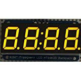 "Adafruit 0.56"" 4-digit 7-segment Display W/i2c Backpack (Yellow)"