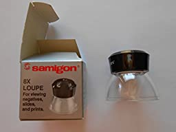 Samigon 8x Loupe for viewing negatives, slides & Prints