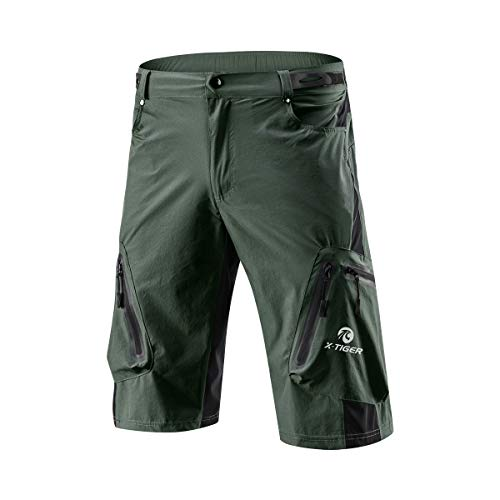 X-TIGER Men's Outdoor Cycling Hiking Shorts Quick Dry
