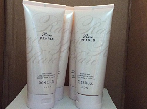 Rare Pearls Body Lotion lot 4 pcs
