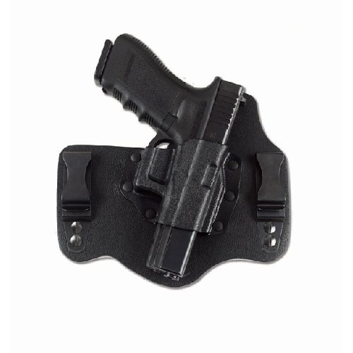 Why Choose Galco KT224B Kingtuk Inside the Waistband Holster - RH, Black, fits Glock 17,19,22,23,26,...