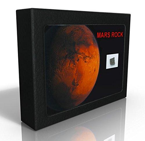 Offrez-vous un bout de Mars ! Fragment de la planète rouge format « Collection » (XL) avec certificat Météorites et Bijoux