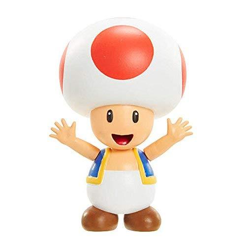 Jakks Pacific World of Nintendo Super Mario Toad 2.5-Inch Mini Figure ()