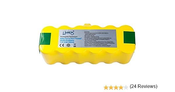 Batería Hannets® compatible con iRobot Roomba 531 I Batería i ...