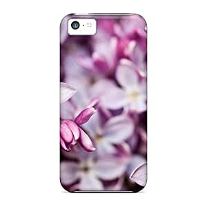 Special CaroleSignorile Skin Cases Covers For Iphone 5c, Popular Clusters Of Lilac Phone Cases