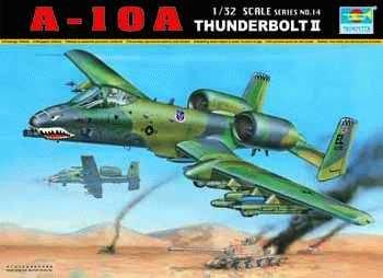 A-10A Warthog Thunderbolt II 1/32 Trumpeter
