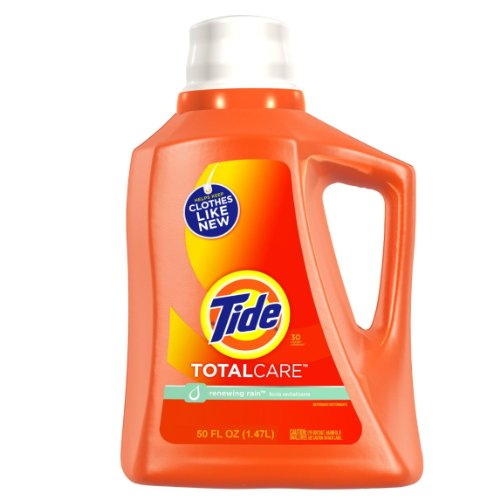 Tide Total Care Liquid Renewing Rain Scent, 50 ounce (Pack of - Renewing Scent Rain