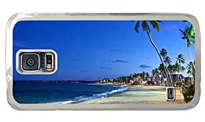 Hipster indestructible Samsung Galaxy S5 Case beach brazil PC Transparent for Samsung S5