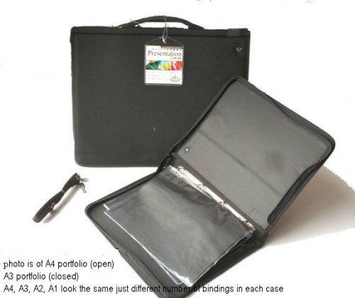 Royal /& Langnickel RBIND-72 A2 Soft Nylon Presentation Ring Binder Case