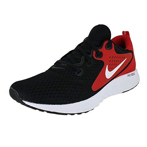 (Nike Men's Legend React Running Shoe Black White University RED (US 9.5))