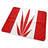 Crib with Change Table Canada JINYOUR Canada Weed Flag Diaper Change Pad Portable and Foldable Changing Mat (25.5â€x31.5â€)