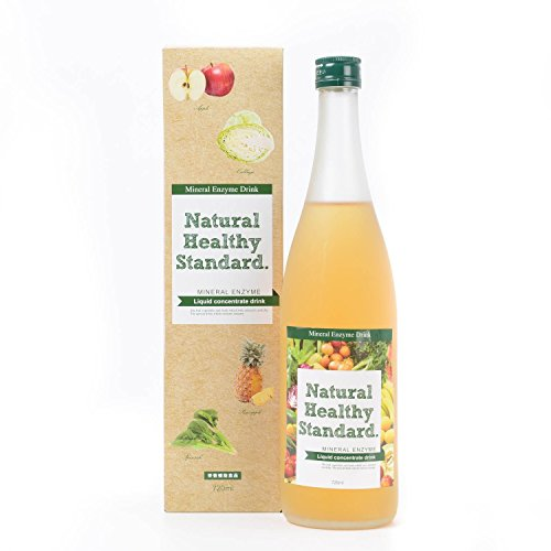 Mineral enzyme drink apple taste by Natural Healthy Standard