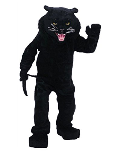 Rubie's Costume Co Men's Black Panther Mascot Costume One Size Fits Most -