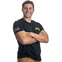 Ranger Tab & Sleeve Flag   United States Military US Army Infantry Vet T-shirt