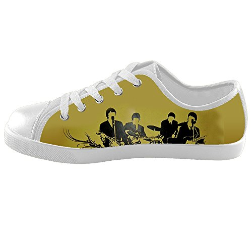 [DONGMEN Custom The Beatles Kid's Canvas Shoes Girls/Boys Unisex] (Young Elvis Presley Costumes)