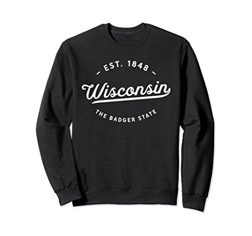 Classic Retro Vintage Wisconsin 1848 USA Gift Sweatshirt