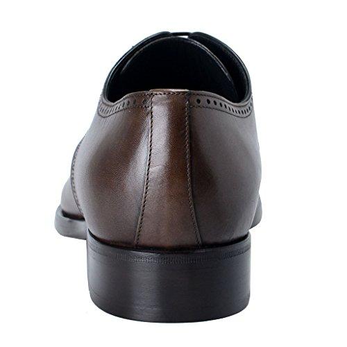 Dolce & Gabbana Chaussures Derby En Cuir Marron Pour Homme Marron
