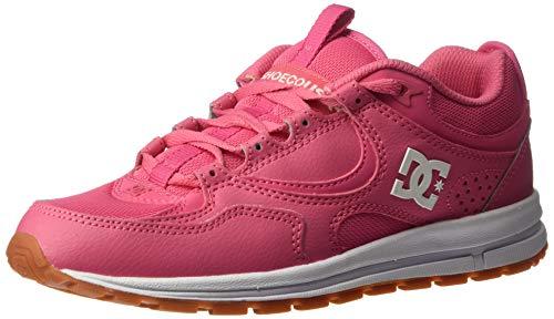 DC Women's Kalis LITE Skate Shoe, hot Pink, 9 M US