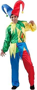 DISBACANAL Disfraz bufón Carnaval - -, XL: Amazon.es: Juguetes ...