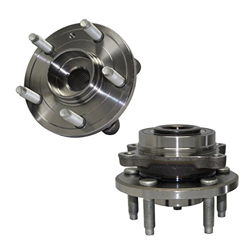 Detroit Axle - Pair Front Wheel Bearing & Hub Assembly Set - 2009-2016 Ford Flex - [2010-2016 Ford Taurus excluding SHO Models] - 2009-2016 Lincoln MKS - [2010-2016 Lincoln MKT] ()
