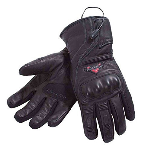 Victory Motorcycle New OEM Women's Leather Heated Riding Gloves, SM, 286363602