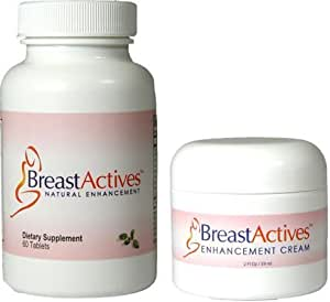 Amazon Com Breast Actives Breast Enhancement Kit 6 Month Supply
