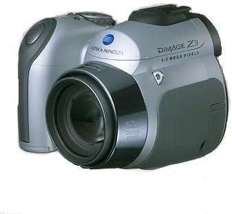 Konica Minolta Dimage Z3 Digital Camera Camera Photo