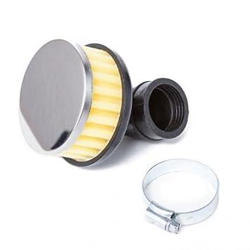 Luftfilter Flat Foam gelb abgewinkelt 28//35mm