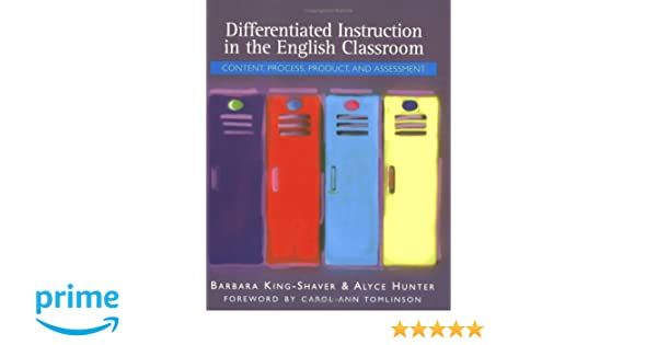 Amazon Differentiated Instruction In The English Classroom